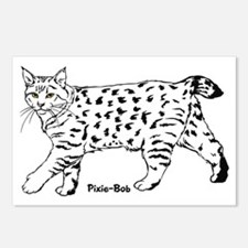 Pixie-Bob Postcards (Package of 8)