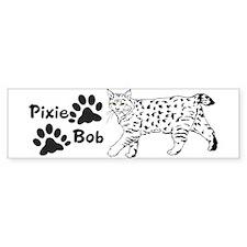 Pixie-Bob Bumper Bumper Sticker