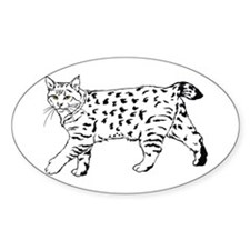 Pixie-Bob Oval Decal