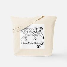 Love My Pixie-Bob Tote Bag