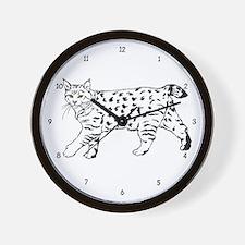 Pixie-Bob Wall Clock