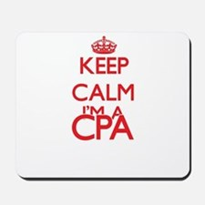 Keep calm I'm a Cpa Mousepad