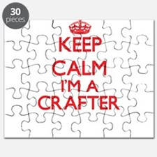 Keep calm I'm a Crafter Puzzle