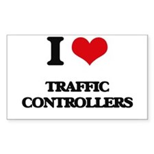 I love Traffic Controllers Decal