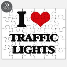 I love Traffic Lights Puzzle