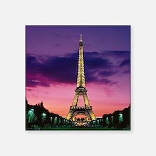 """Paris When It Sizzles Square Sticker 3"""" x 3"""""""