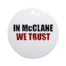McClane Ornament (Round)