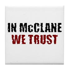 McClane Tile Coaster