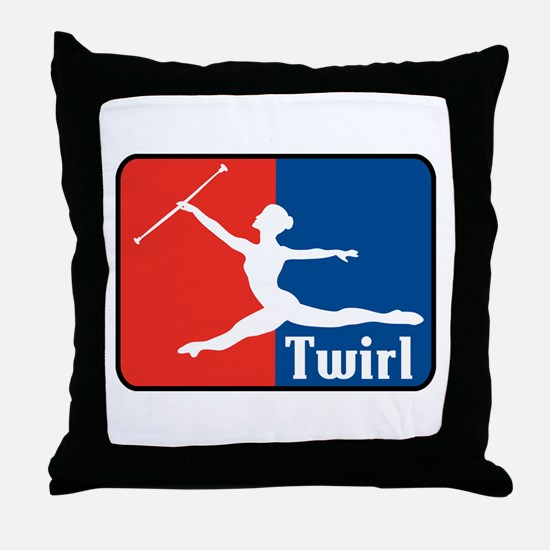 Twirl Throw Pillow