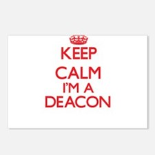 Keep calm I'm a Deacon Postcards (Package of 8)