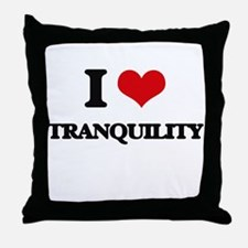 I love Tranquility Throw Pillow