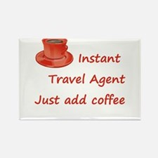 Instant Travel Agent Rectangle Magnet (10 pack)
