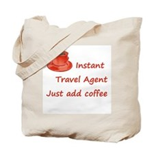 Instant Travel Agent Tote Bag