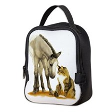 Miniandcat.jpg Neoprene Lunch Bag