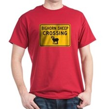 Bighorn Sheep Crossing, USA T-Shirt