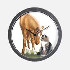 mini sorrel cat Wall Clock