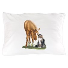 mini sorrel cat Pillow Case