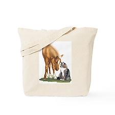 mini sorrel cat Tote Bag