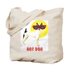 Summer Toy Fox Terrier Tote Bag