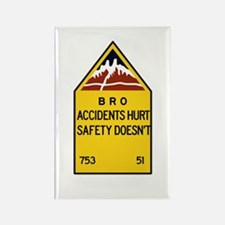 Bro, Accident Hurts, India Rectangle Magnet