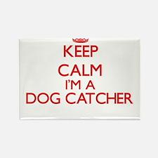 Keep calm I'm a Dog Catcher Magnets
