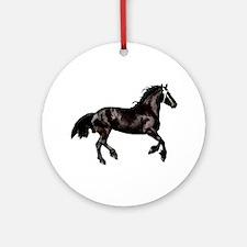 """FRiesian 9"" Ornament (Round)"