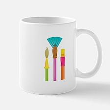 Paint Brushes Mugs