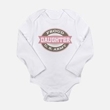 Proud Army Daughter Body Suit