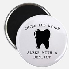 """Smile All Night 2.25"""" Magnet (10 pack)"""