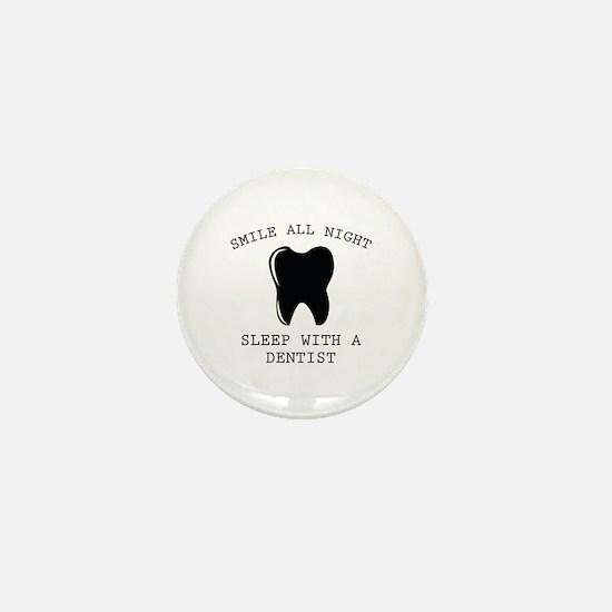 Smile All Night Mini Button