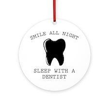 Smile All Night Ornament (Round)