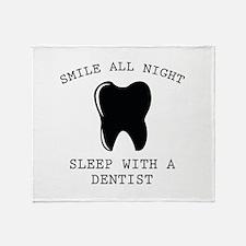 Smile All Night Stadium Blanket