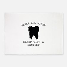 Smile All Night 5'x7'Area Rug
