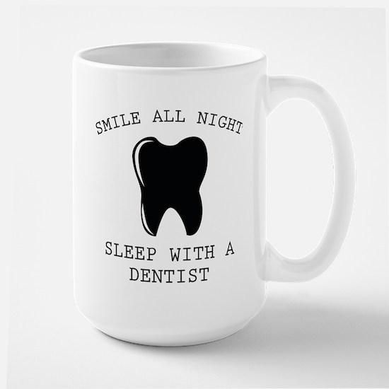 Smile All Night Large Mug