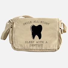 Smile All Night Messenger Bag