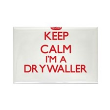Keep calm I'm a Drywaller Magnets