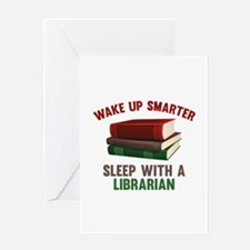 Wake Up Smarter Sleep With A Librarian Greeting Ca