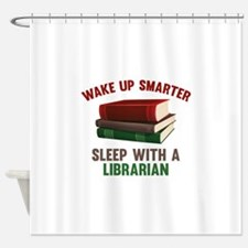 Wake Up Smarter Sleep With A Librarian Shower Curt