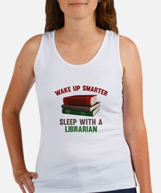 Wake Up Smarter Sleep With A Librarian Women's Tan