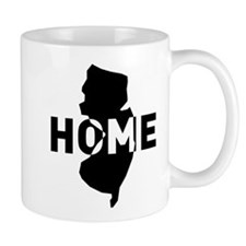 Home is where New Jersey is Mugs