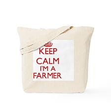 Keep calm I'm a Farmer Tote Bag