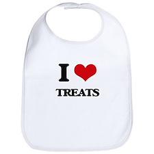 I love Treats Bib