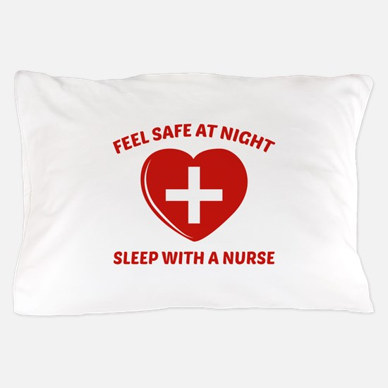 Feel Safe At Night Pillow Case