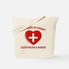 Feel Safe At Night Tote Bag