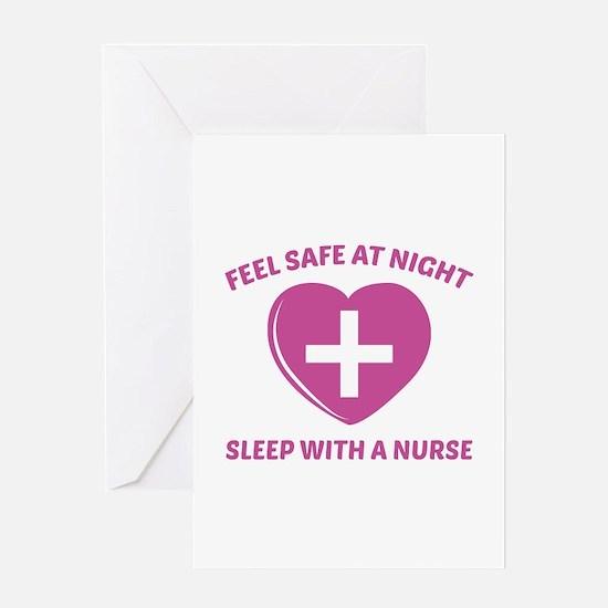 Feel Safe At Night Greeting Card