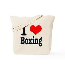 I Heart (Love) Boxing Tote Bag