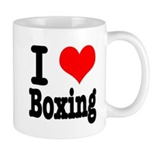 I Heart (Love) Boxing Mug
