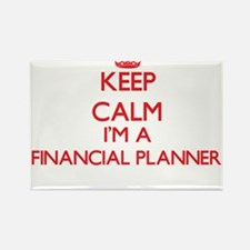 Keep calm I'm a Financial Planner Magnets