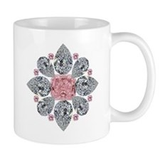 The Tudor Rose Pink Diamond Mug