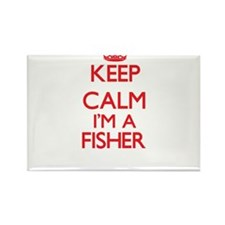 Keep calm I'm a Fisher Magnets